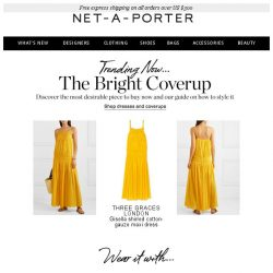 [NET-A-PORTER] Look on the bright side