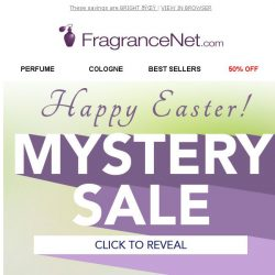 [FragranceNet] 🔮 Major savings are in your future - expires TONIGHT