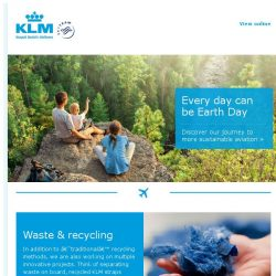 [KLM] Our journey to becoming more sustainable