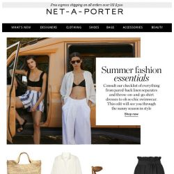 [NET-A-PORTER] The summer essentials you need