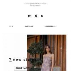 [MDS] New Must-Have Styles!!😍