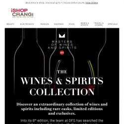 [iShopChangi] Yongning, meet the Masters of Wines of Spirits 2019.