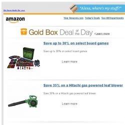 [Amazon] Save up to 30% on select board games