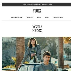 [Yoox] WRÅD X YOOX: A sustainable story to discover