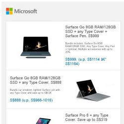 [Microsoft Store] Labour Day sale: Surface Go, Surface Pro 6 and more