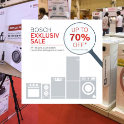 Bosch: Exklusiv Sale with Up to 70% OFF Home Appliances!