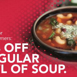 The Soup Spoon: 50% OFF a Regular Bowl of Soup for Singtel Customers!
