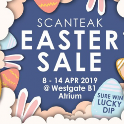 Scanteak: Easter Sale with Up to 60% OFF Teak Furniture & Leather Sofas!
