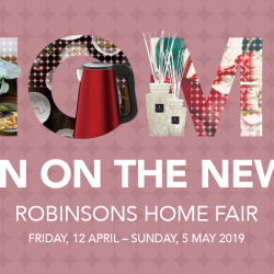 Robinsons: Home Fair with Up to 60% OFF Regular Priced Items & Additional 20% OFF for OCBC Robinsons Group Visa Cardmembers!
