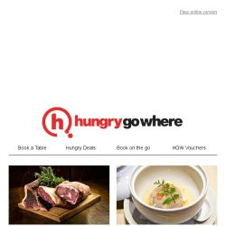 [HungryGoWhere] Hot Dining Deals for Mother's Day Celebration - Be sure you have your table booked now!