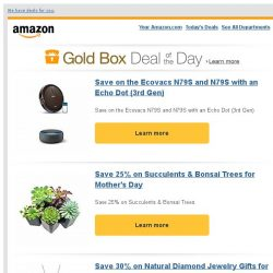 [Amazon] Save on the Ecovacs N79S and N79S with an Echo...