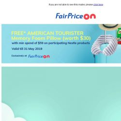 [Fairprice] Shop & be rewarded! ✨
