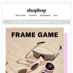 [Shopbop] The shades we're eyeing right now