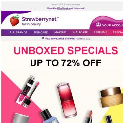 [StrawberryNet] Up to 72% Off Most-Wanted Unboxed Specials