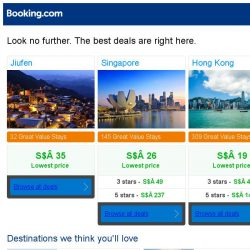 [Booking.com] Prices in Jiufen dropped again – act now and save more!