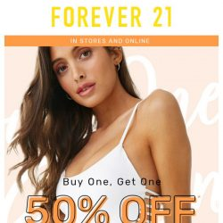 [FOREVER 21] Oops! Your BOGO deal is ready