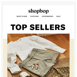 [Shopbop] Top sellers = top outfits