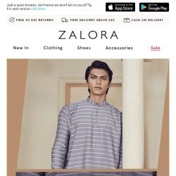 [Zalora] You snooze, you lose EXTRA 20% Off Sitewide!
