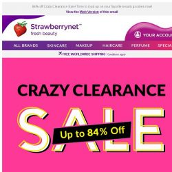 [StrawberryNet] Not just a sale. It's CRAZY sale!