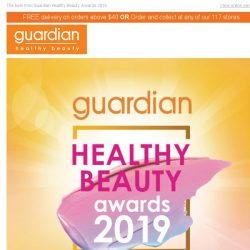 [Guardian] 💋 Beauty Meets Wellness + Deals you might have missed!
