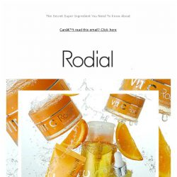 [RODIAL] Let's Talk About Vitamin C 🍊