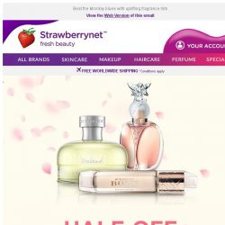 [StrawberryNet] 50% Off Perfume steals breaking all the rules