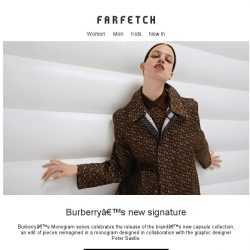 [Farfetch] Burberry's new Monogram collection just landed