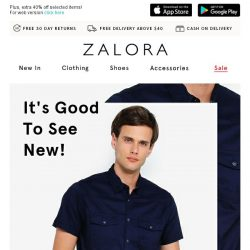 [Zalora] Refresh your wardrobe with our latest drops!