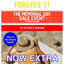 [FOREVER 21] 🌟 EXTRA 50% OFF SALE 🌟
