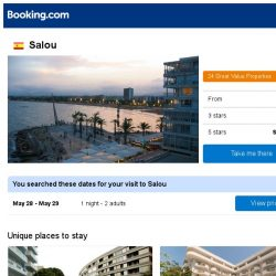 [Booking.com] Prices in Salou dropped again – act now and save more!