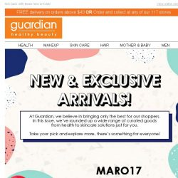 [Guardian]  Our Top New & Exclusive picks of June has arrived!