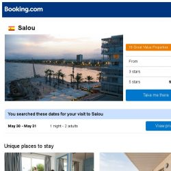 [Booking.com] Deals in Salou from S$ 46