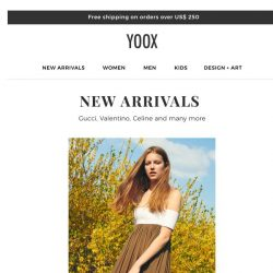 [Yoox] New arrivals! Discover them now >>