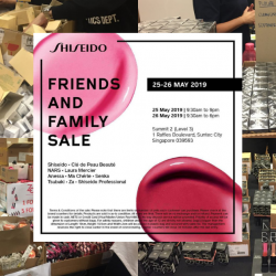 Shiseido: Friends and Family Sale 2019 with Clearance on Beauty Products from Shiseido, Cle de Peau Beaute, Za, NARS & More!