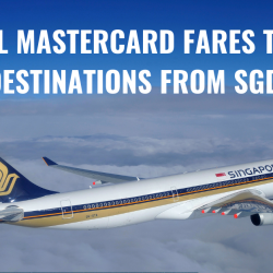 Singapore Airlines: Fly to Over 70 Destinations Worldwide with Special Mastercard Fares from SGD168!