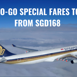Singapore Airlines: Book Special Two-to-Go Fares to Southeast Asia & North Asia from SGD168!