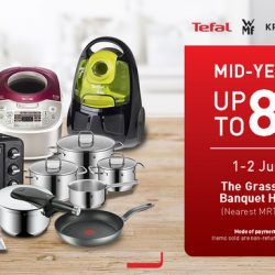 Tefal: Mid-Year Sale with Up to 80% OFF Kitchen & Home Appliances from Tefal, WMF, Krups & Rowenta!