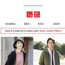 [UNIQLO Singapore] Trendy everyday looks you'll love.