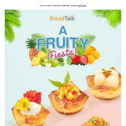 [BreadTalk] Usher the June School Holidays with A Fruity Fiesta!