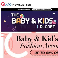 [Qoo10] Style Your Kids This Summer Holidays! Grab 1 FOR 1 Baby Shoes, NEW Casio Watches & More!