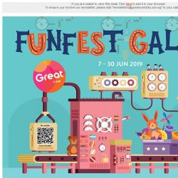 [Great World City]  Funfest Galore at Great World City from 7 to 30 Jun!
