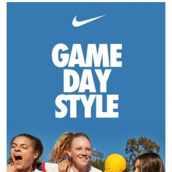 [Nike] Style for game-day… and beyond