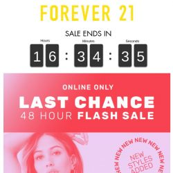 [FOREVER 21] HEY, YOU!