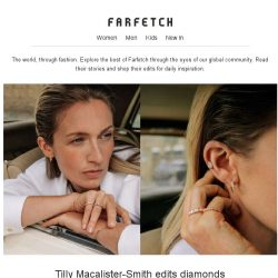 [Farfetch] Something for the weekend: diamonds, denim and more
