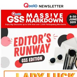 [Qoo10] Everyday Can Be Dress-Up Day With The GSS Fashion And Beauty Sale!
