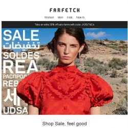 [Farfetch] Extra 30% off Sale: the four things you need