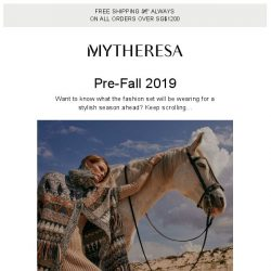 [mytheresa] Pre-Fall 2019: the 6 key trends you need to know