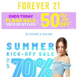 [FOREVER 21] SALE Yeah!