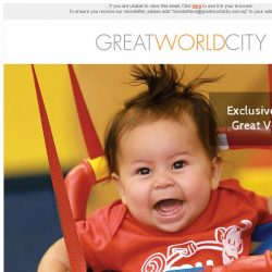 [Great World City]  Open House Preview at My Gym Great World City (21 Jun - 14 Jul)