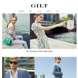 [Gilt] We've Got Your Summer Outfits Covered